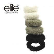 【olina】法國 elite 髮圈 (小毛毛圈)-2入組