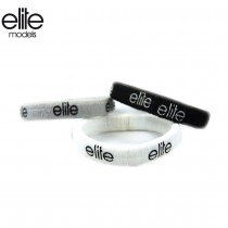 【olina】法國 elite 髮圈 (扁平狀)-2入組