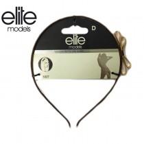 【olina】法國 elite 髮箍(蝴蝶結狀)-2入組